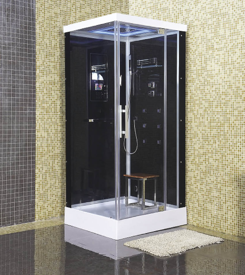 A steam shower is that ideal winter purchase new world bathrooms - All you need to know about steam showers ...