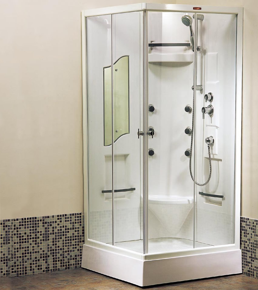Non Steam Luxury Shower Enclosures - New World Bathrooms Redditch