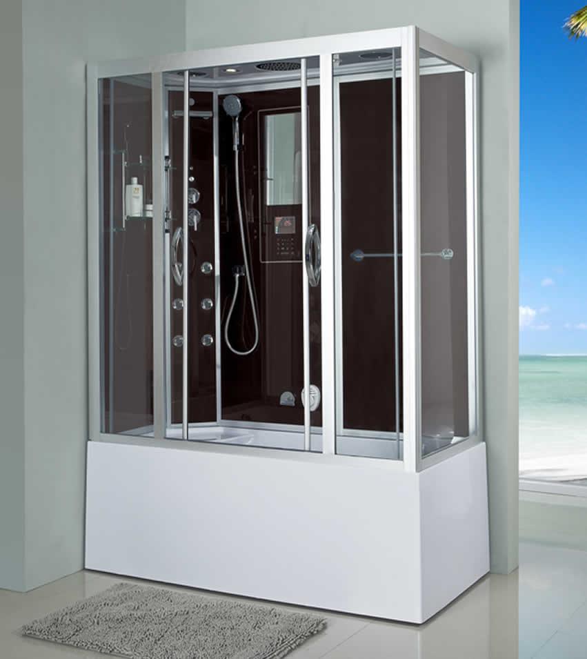 Luxury steam showers new world bathrooms redditch - Luxury shower cubicles ...